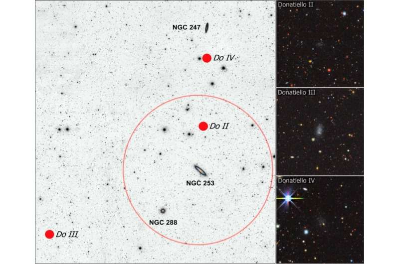 Astronomers discover three new faint dwarf galaxies Astronomers-discover-t