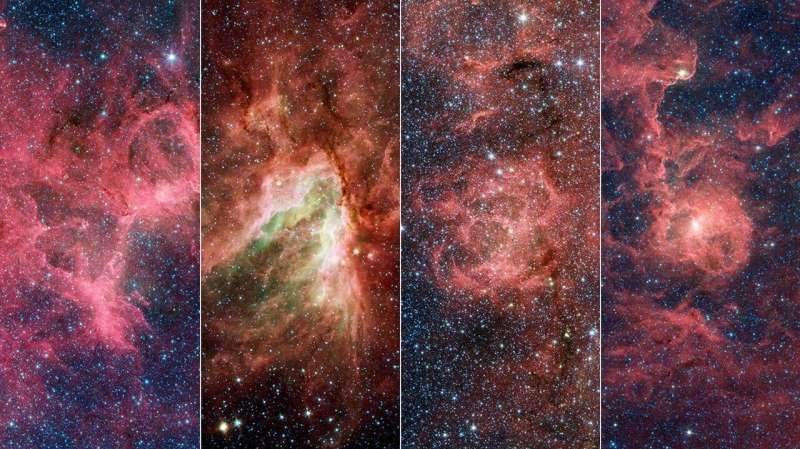 Astronomers find a 'break' in one of the Milky Way's spiral arms Astronomers-find-a-bre