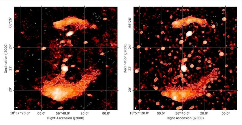 Astronomers inspect radio relics in galaxy cluster PSZ2 G096.88+24.18