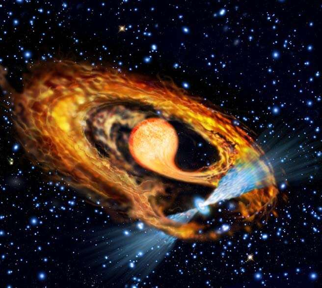 Astronomers inspect the formation of millisecond pulsar Astronomers-inspect-th