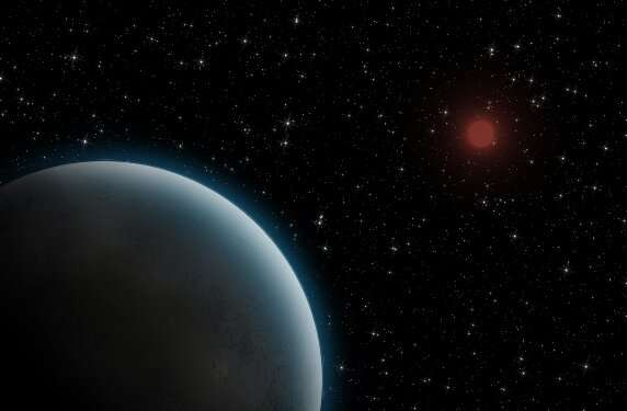 Astronomers see dust disk around young super-Jupiter