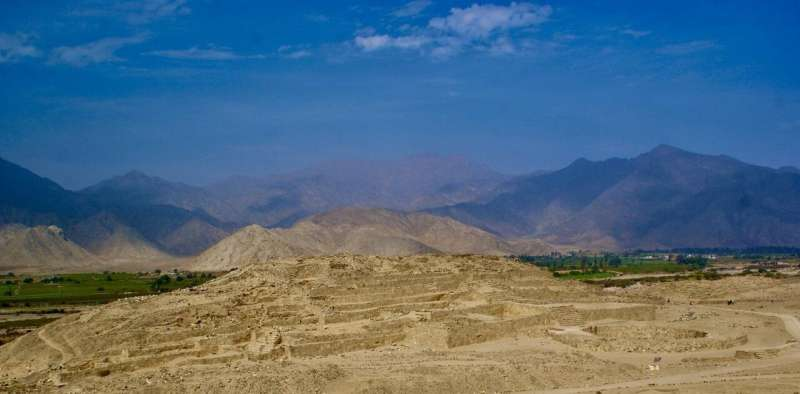 Astronomy and Landscape in the city of Caral, the oldest city in the Americas