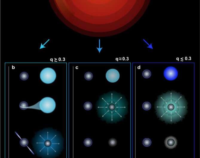 Astrophysicists explain the origin of unusually heavy neutron star binaries