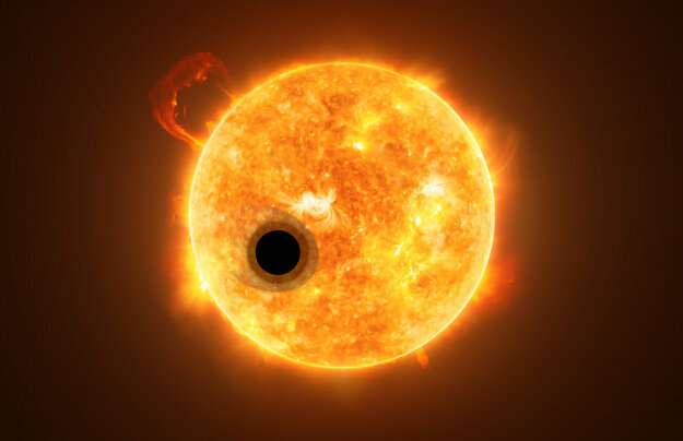 A 'super-puff' planet like no other
