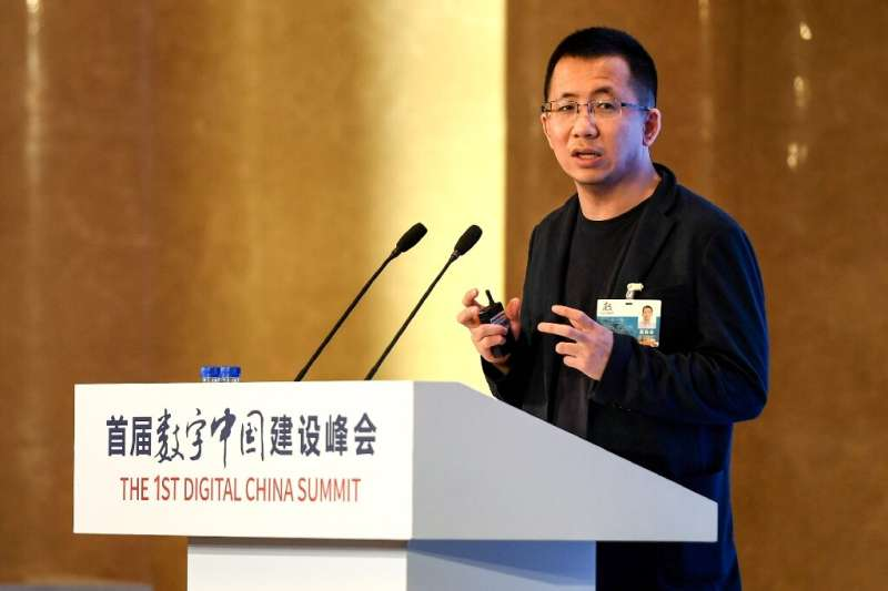 At just 38 Zhang Yiming has found that having a seat at the top table of China's rambunctious tech scene carries a heavy politic