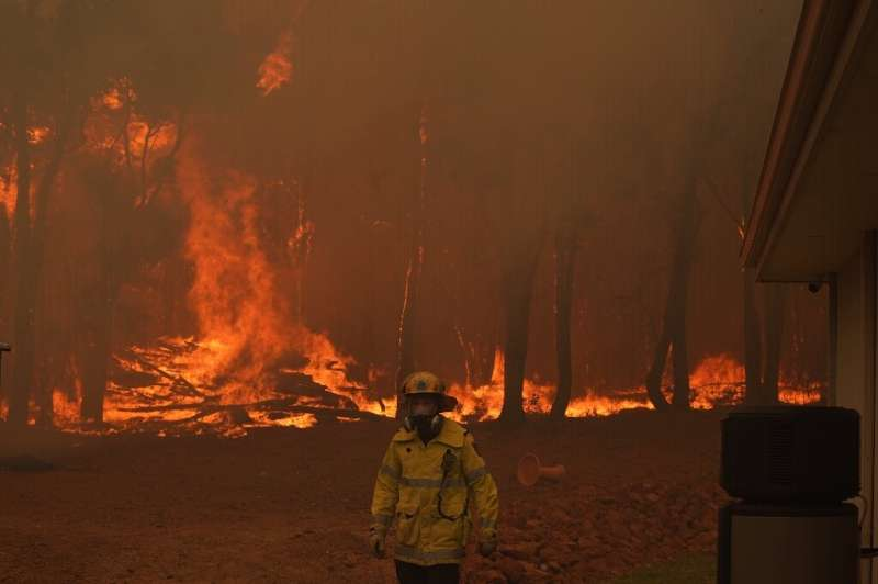 At least 81 homes have been destroyed in the blaze at the Perth Hills, on the eastern fringes of Australia's fourth-biggest city