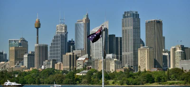 Australia's population growth has plummeted to its lowest levels in more than a century after it effectively sealed itself off f