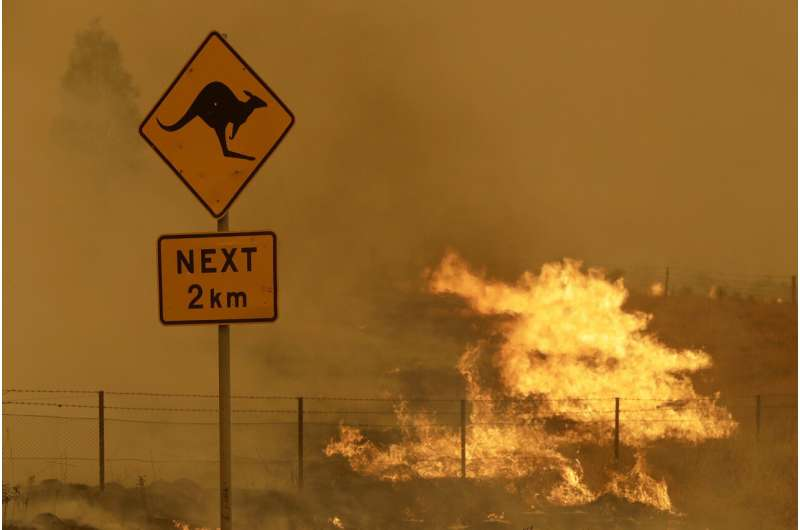 Australia sweltered through its 4th-hottest year in 2020