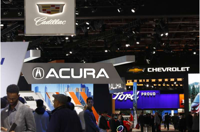 Auto show back in Detroit next year with focus on outdoors