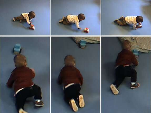 Baby Robot: a system that helps toddlers to practice their motor skills