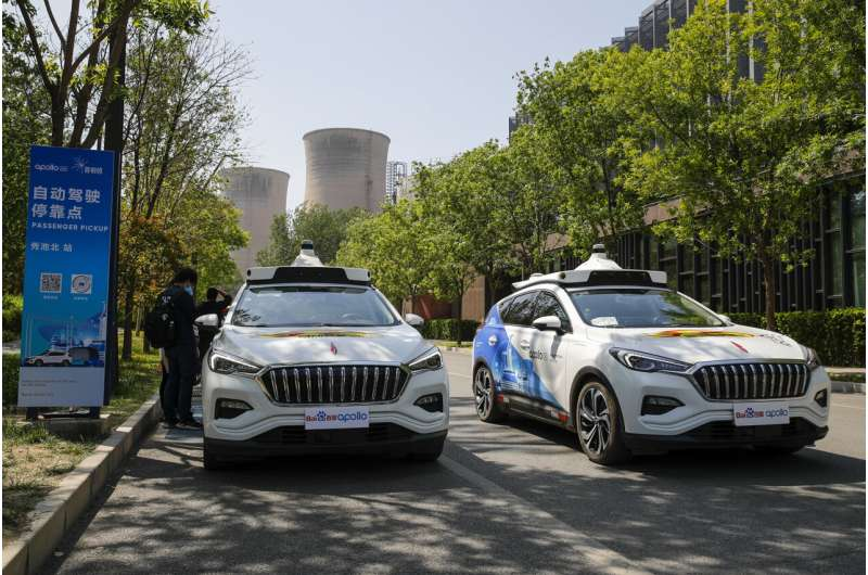 Baidu rolls out paid driverless taxi service in Beijing