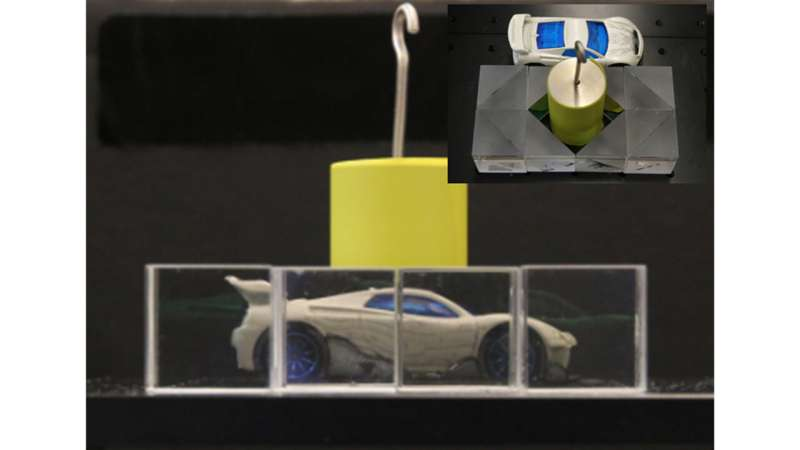 Bending light for safer driving; invisibility cloaks to come?