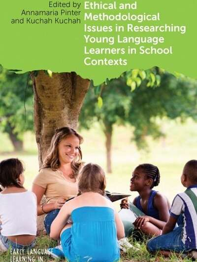 Best practice for researching with child language learners explored in new book