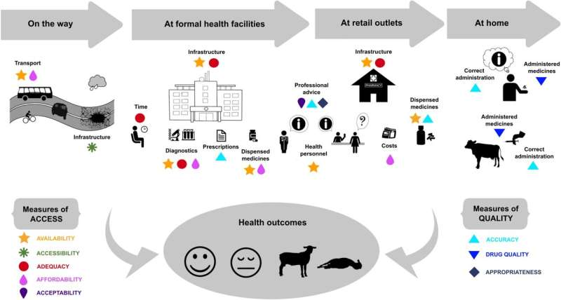 Better access to quality health care could curb antimicrobial resistance in East Africa