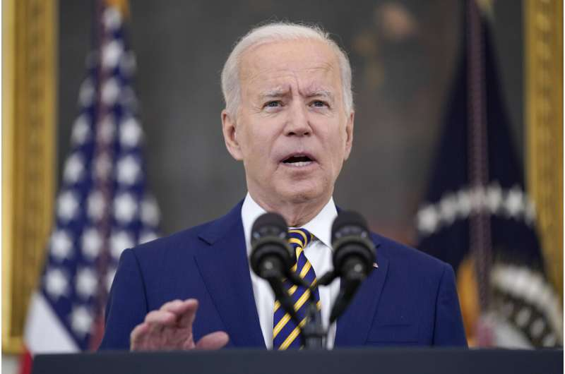 Biden pushes shots for young adults as variant concern grows