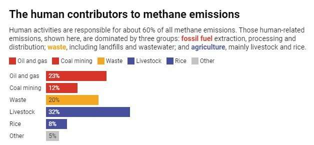Biden urges countries to slash methane emissions 30% – why it's crucial for protecting climate and health