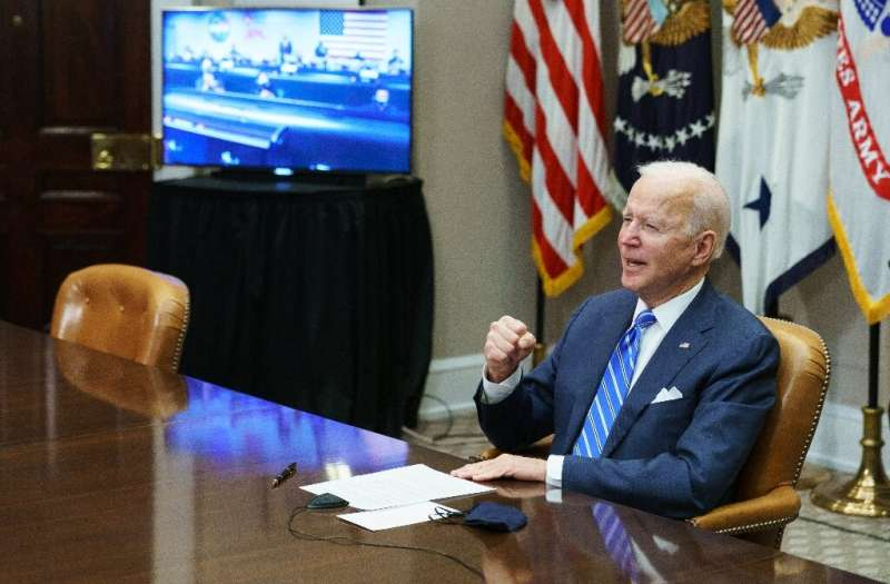 Biden initially maintained the duties imposed by Trump, but von der Leyen said in her statement that she hoped the suspension si