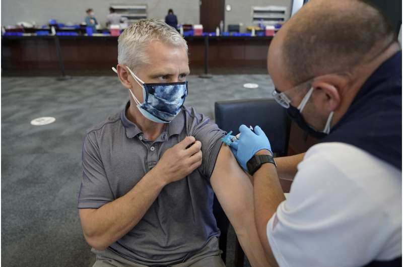 Big gaps in vaccine rates across the US worry health experts