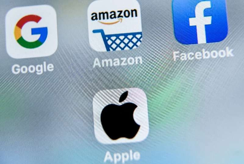 Big Tech firms likely to be affected by antitrust legislation in Washington include Google, Apple, Facebook, Amazon and potentia