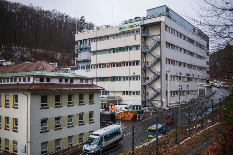 BionTech's site in Marburg is expected to be one of the largest mRNA production facilities in Europe, with an annual production