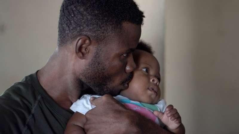 black infant