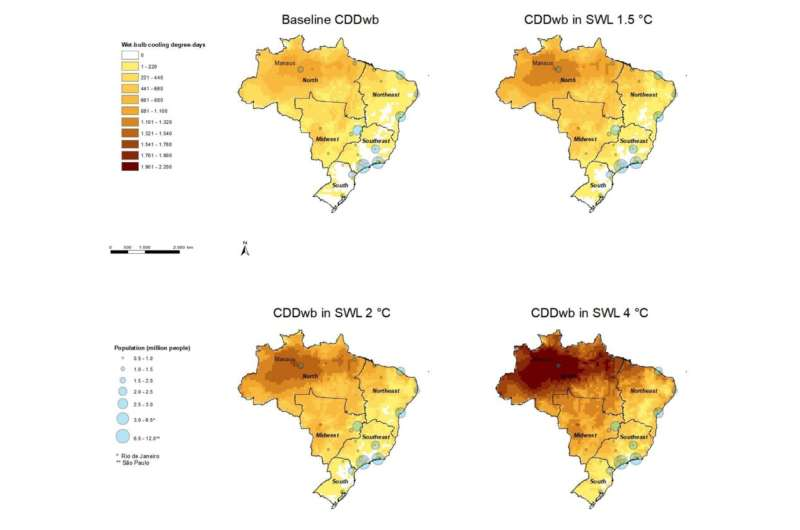 Brazil: Air conditioning equipment days of use will double without climate action