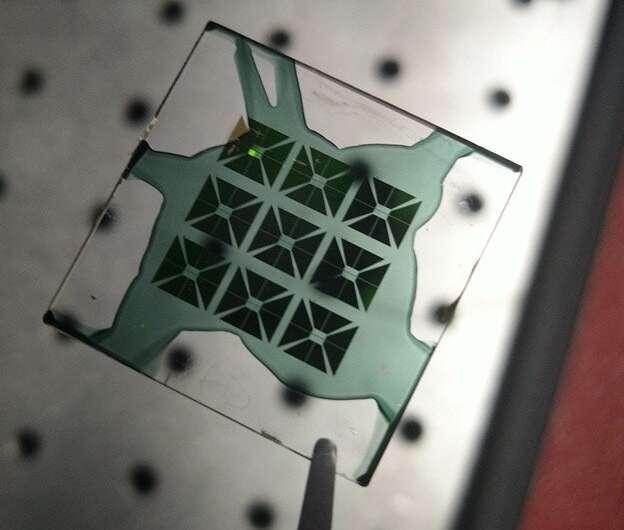 Bridging optics and electronics