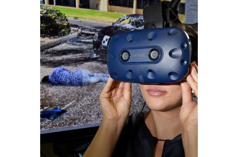 Bringing the jury to the crime scene via a 3D headset