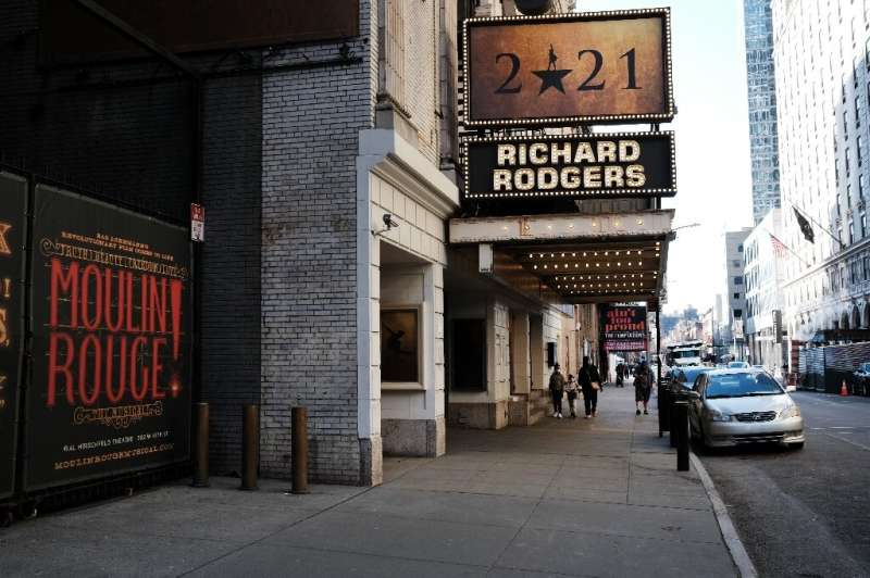 Broadway theaters remain shuttered a year into the coronavirus pandemic, but New York travel officials see some signs of a recov