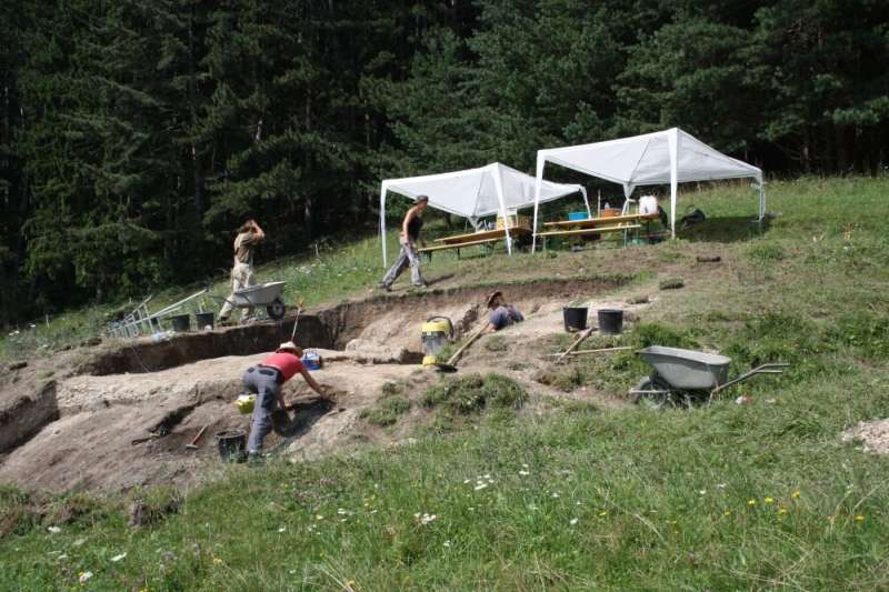 Bronze Age mining sites received deliveries of pre-processed foods