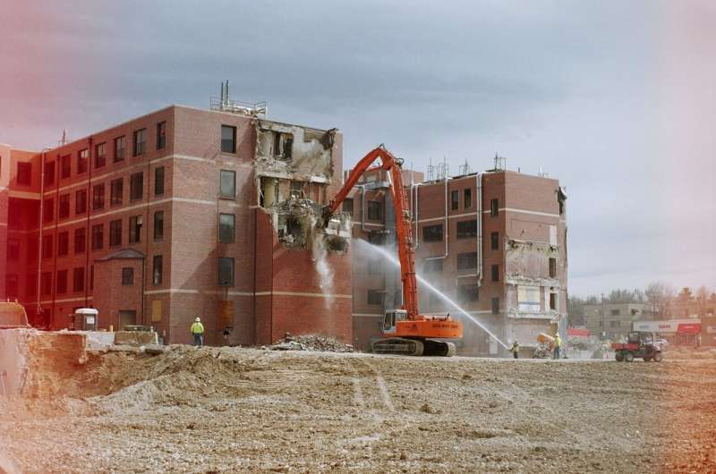 Building from old buildings: demolition waste is being turned into new concrete