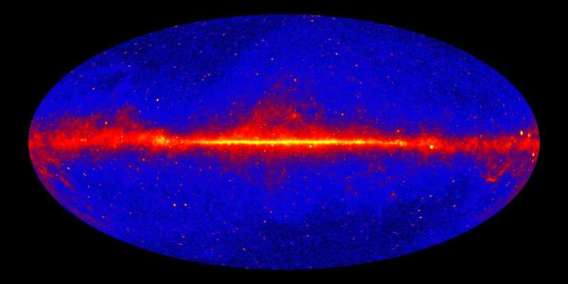 Burning space mystery solved as researchers confirm origins of 'empty sky' gamma-rays