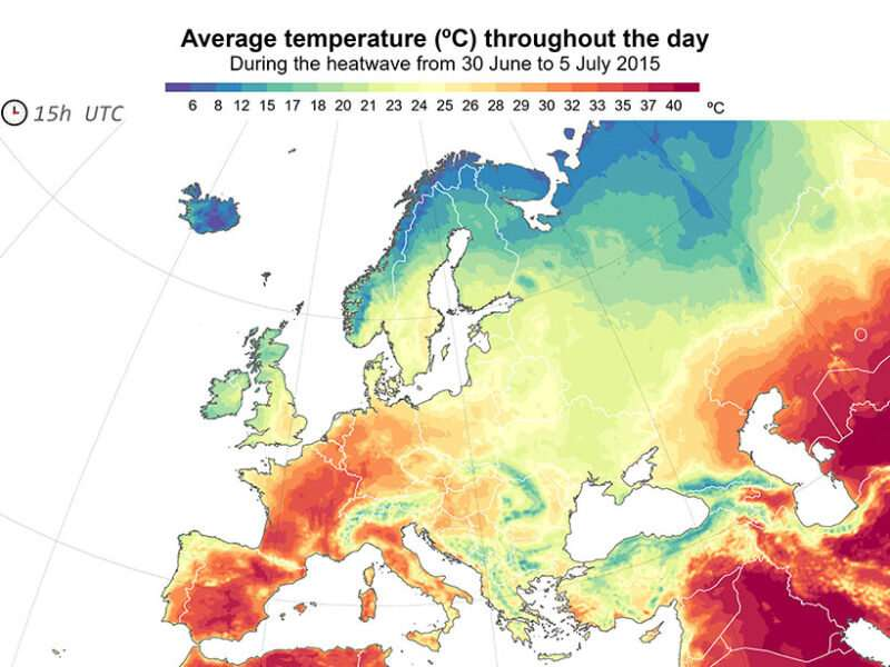 Calculating human health risks with general weather data