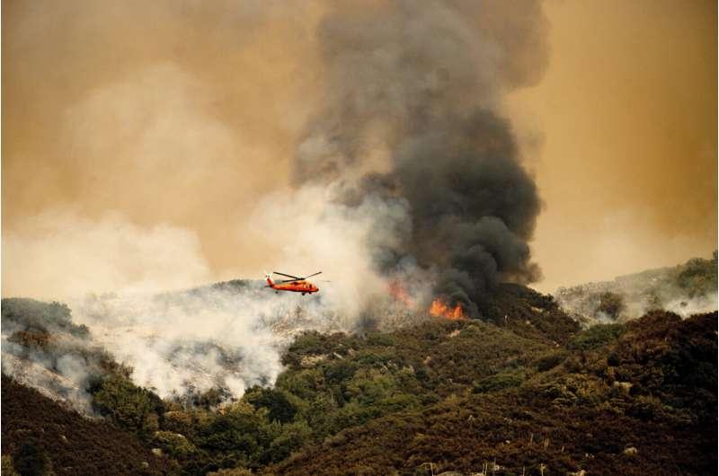 California wildfires threaten famous giant sequoia trees