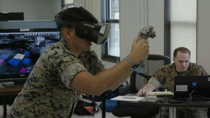 Call for fire: ONR tests virtual training systems for JTACs, fire support marines