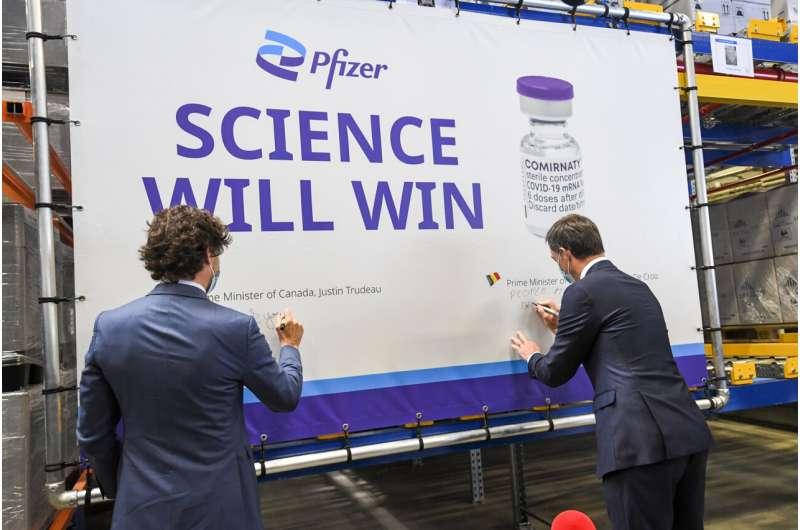Canada: Pfizer, Moderna preferred 2nd dose after AstraZeneca