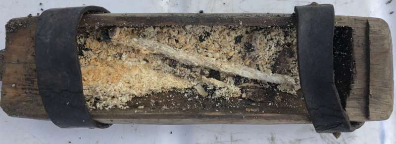 Candle box from 500 years ago found in melting glacier in Norway