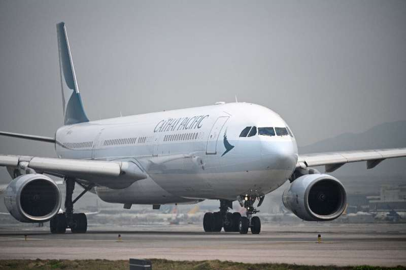 Cathay Pacific warned of a tough road ahead after reporting a record loss for 2020
