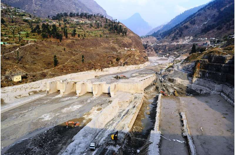 Cause, scope determined for deadly winter debris flow in Uttarakhand, India