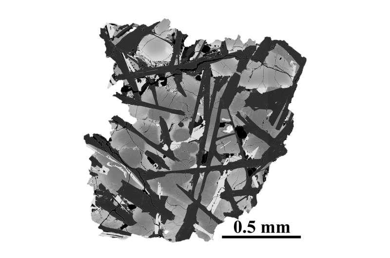 Chang'e-5 samples reveal key age of moon rocks