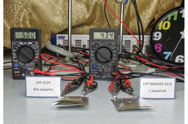 Chemists develop a new technology to prevent lithium-ion batteries from catching fire