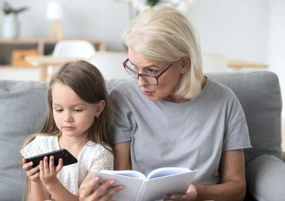 Children more distracted by digital devices in the home, parents say