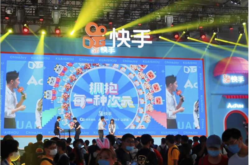 China fines tech giants for content exploiting children