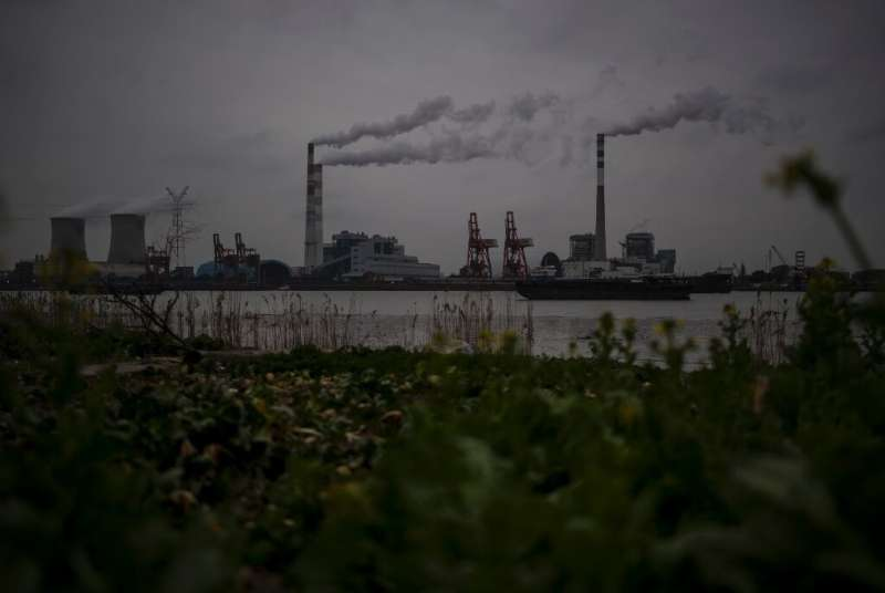 China is the world's biggest emitter of greenhouse gases