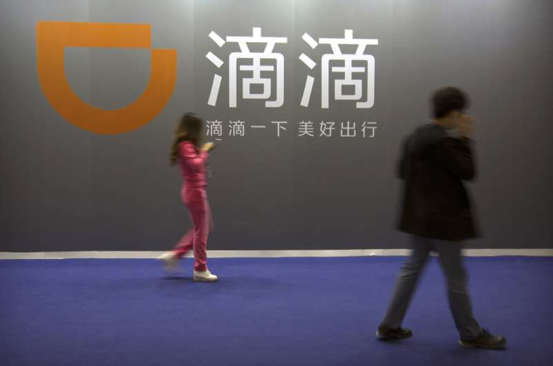 China orders takedown of 25 apps from ride service Didi