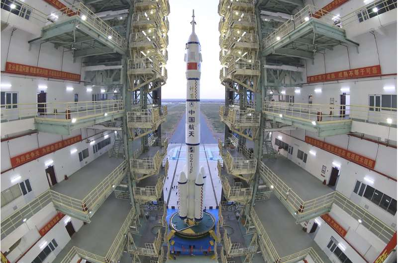 China set to send 3 astronauts on longest crewed mission yet