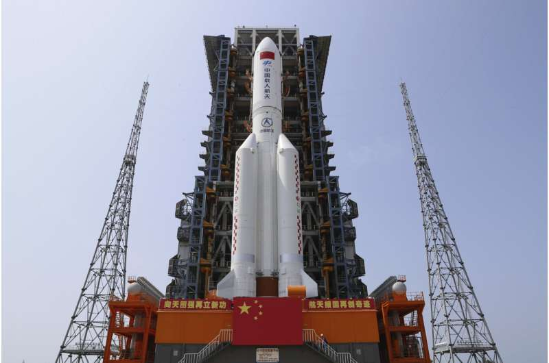 China to launch Heavenly Harmony space station core module