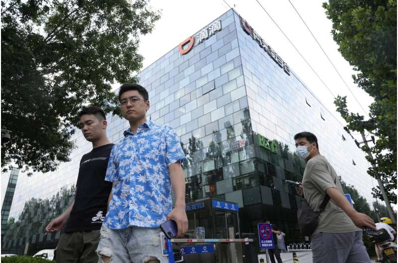 China's Didi denies report of plan to buy back shares