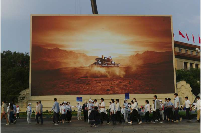China's Mars rover soldiers on after completing program