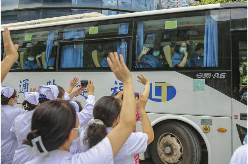 Chinese city with coronavirus outbreak stops buses, trains
